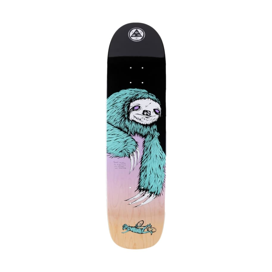 Welcome Sloth on Son of Planchette - 8.38   Deck by Welcome Skateboards 1