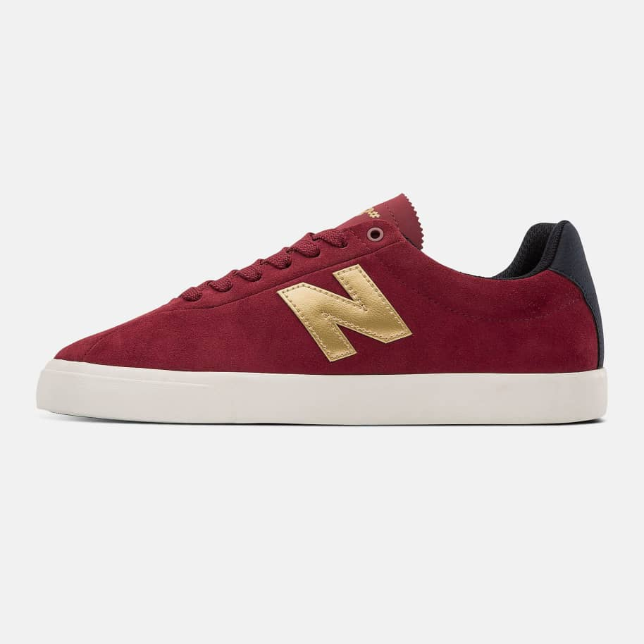 New Balance Numeric NM22 Shoes - Red / Gold | Shoes by New Balance 3