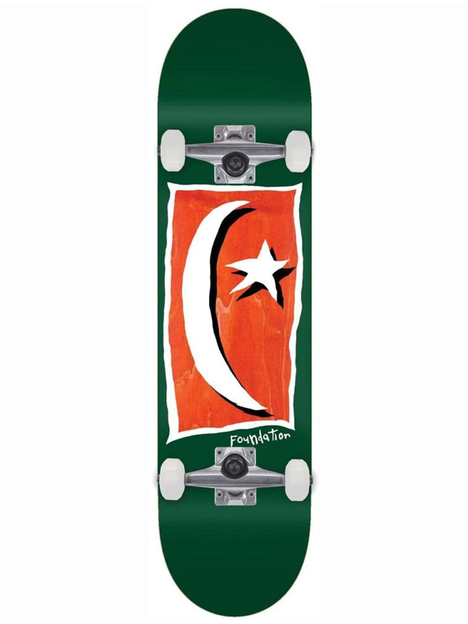 Foundation Star & Moon V2 Complete 8.13 | Complete Skateboard by Foundation 1