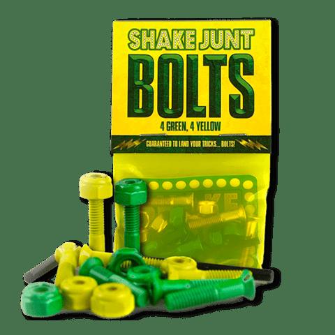 Shake Junt Bag O' Bolts 4 Green 4 Yellow | Bolts by Shake Junt 1