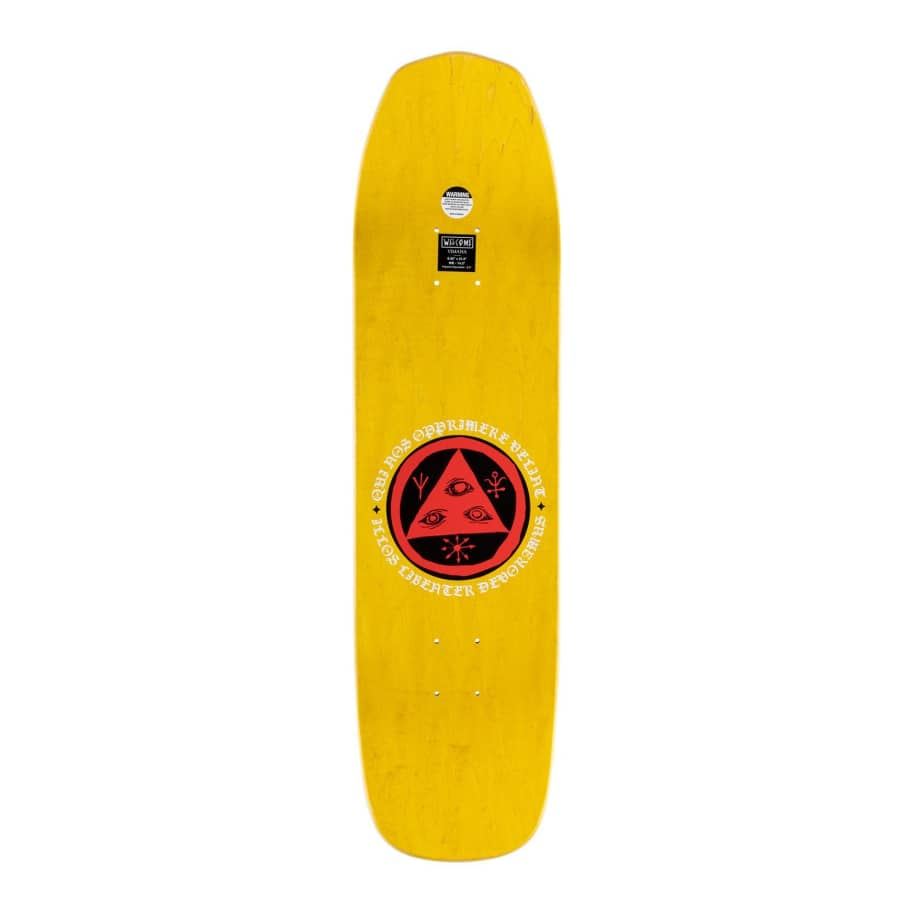 Welcome American Idolatry on Vimana Deck - 8.25"