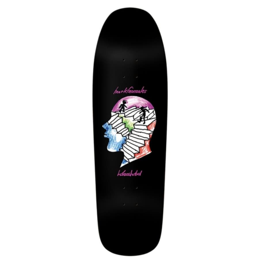 Krooked Gonz Stairs Deck: 9.81 | Deck by Krooked Skateboards 1