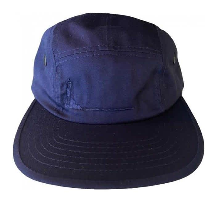 Poets Turtle Hill 5 Panel - Navy | Baseball Cap by Poets Brand 1