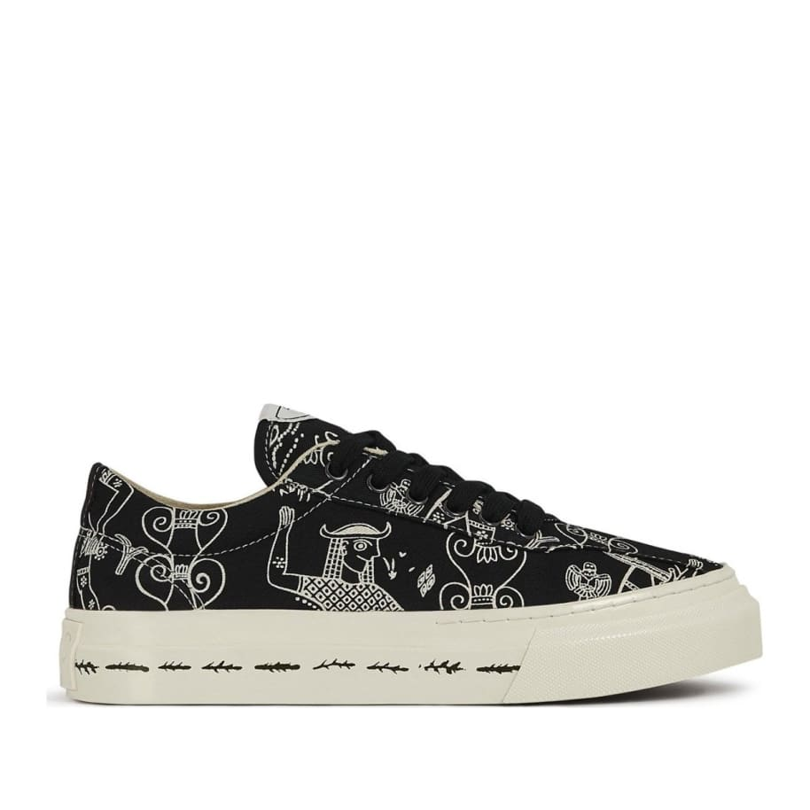 Stepney Workers Club x Endless Joy Dellow Womens Canvas Shoes - Gorgon | Shoes by Stepney Workers Club 1