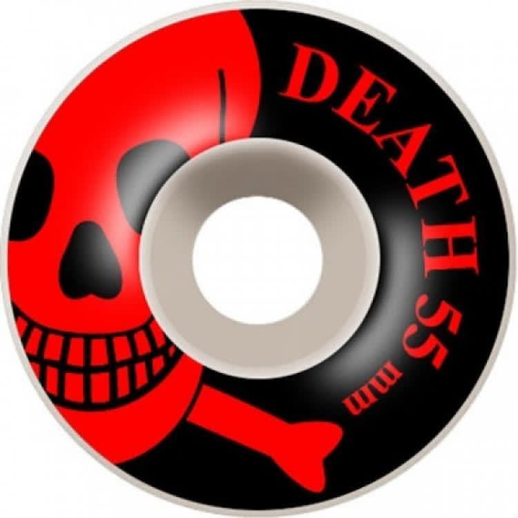 Death Skateboards Skull Wheels Black 55mm | Wheels by Death Skateboards 1