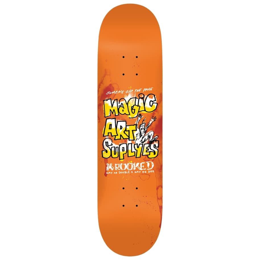 """Krooked Magic Art Suplyes Deck 8.38"""" 