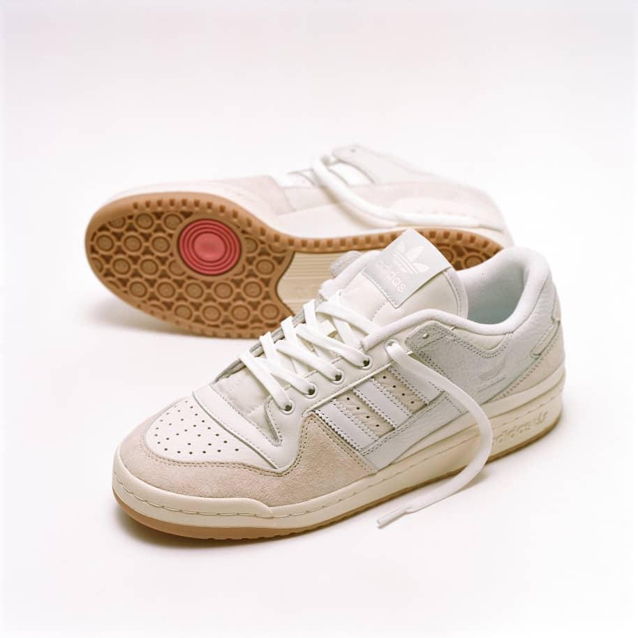 adidas Skateboarding Forum 84 Low ADV Shoes - Chalk White / Ftwr White / Cloud White | Shoes by adidas Skateboarding 10