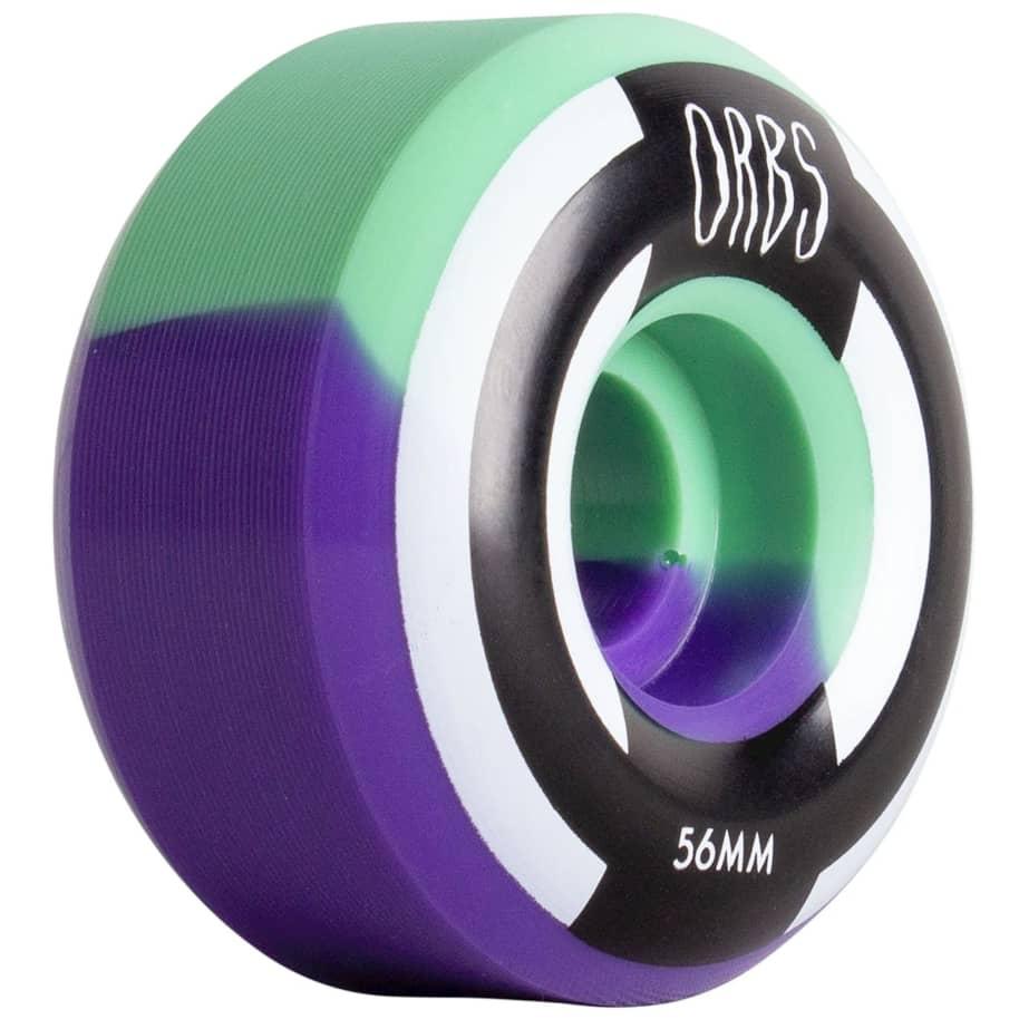 Orbs Apparitions Splits Skateboard Wheels | 56mm Mint Lavender | Wheels by Orbs Wheels 4