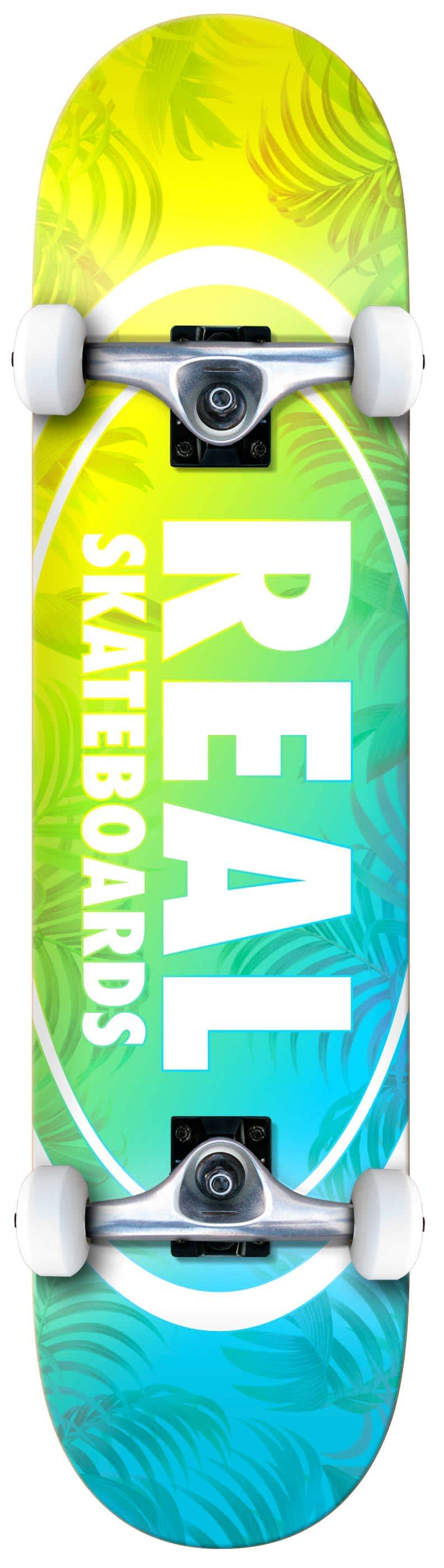 REAL Island Oval Complete Mini 7.3   Complete Skateboard by Real Skateboards 1