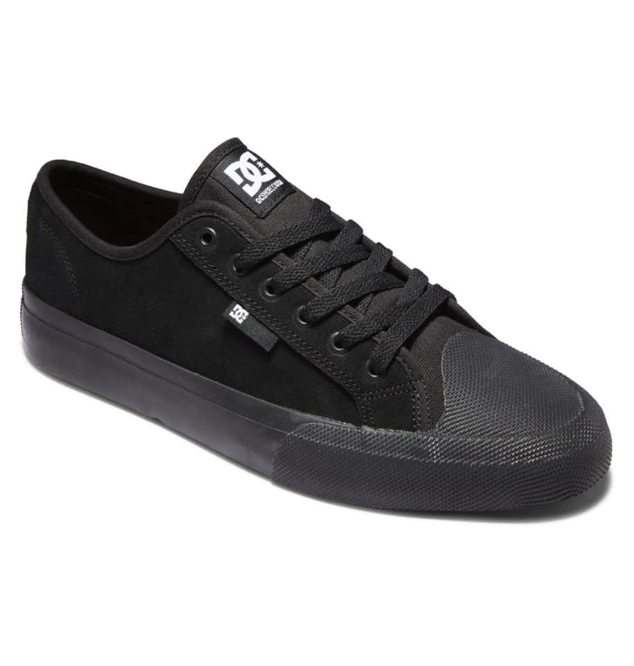 DC Manual S Suede Skate Shoes - Black | Shoes by DC Shoes 2