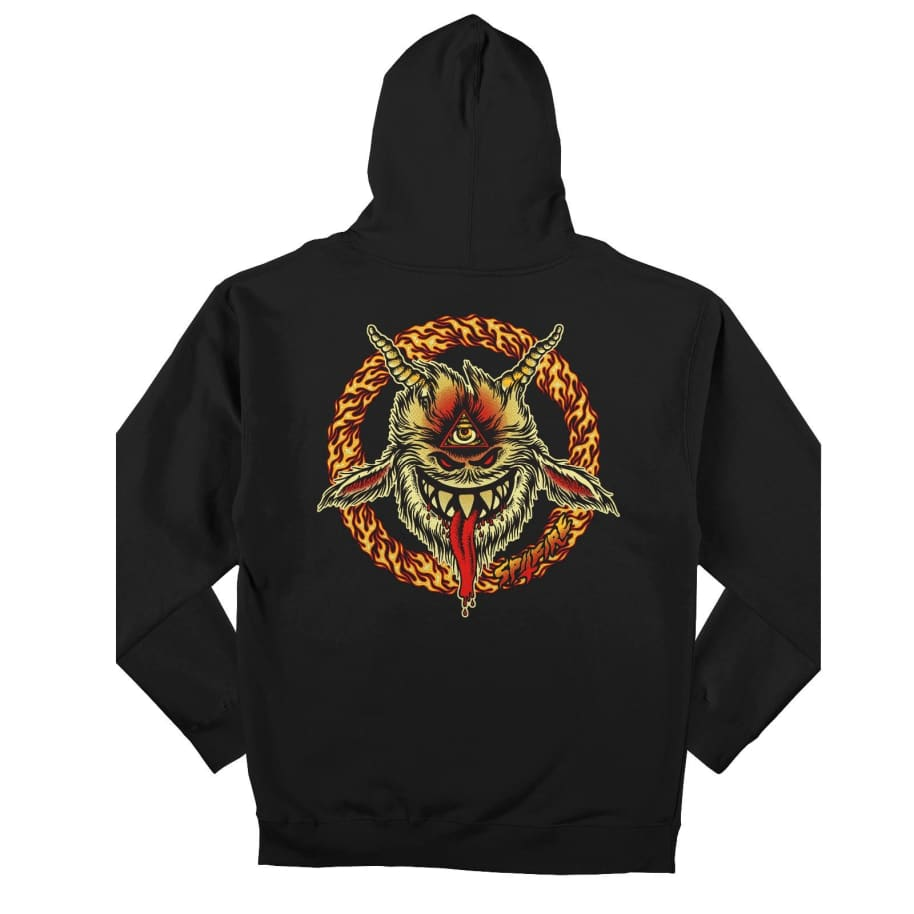 Spitfire Touch Of Satan Pullover Hooded Sweatshirt | Hoodie by Spitfire Wheels 1