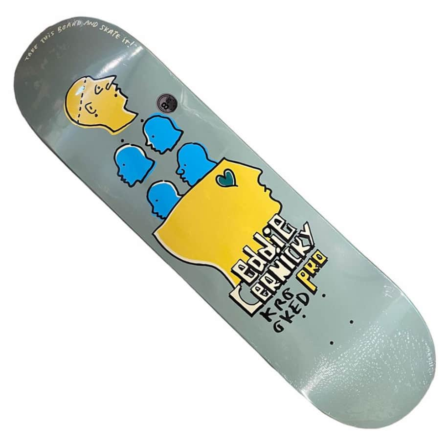 Krooked Deck Cernicky Take This 8.25x32   Deck by Krooked Skateboards 1