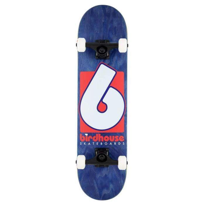 Birdhouse B-logo Complete Blue/Red 7.75   Complete Skateboard by Birdhouse 1