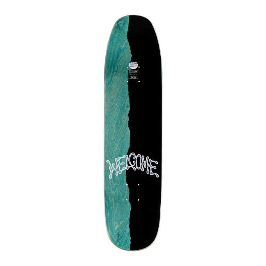 FUTBOL ON SON OF MOONTRIMMER   Deck by Welcome Skateboards 2