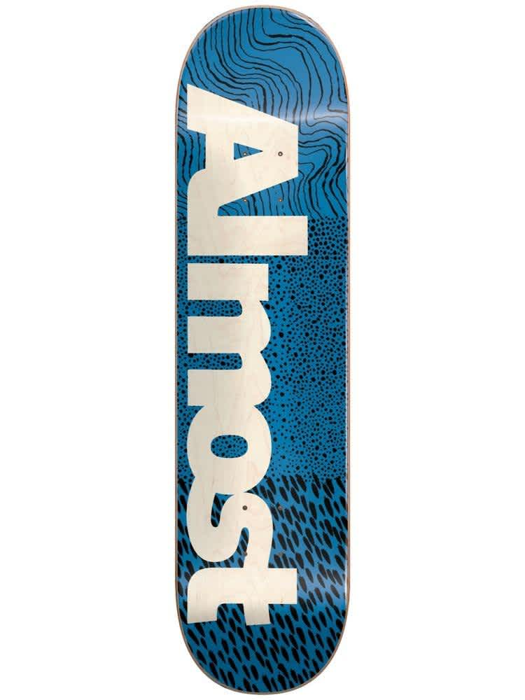 ALMOST - Catalyst Blue - 7.75   Deck by Almost Skateboards 1
