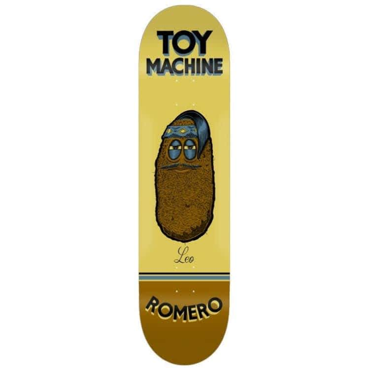 Toy Machine Romero Pen N Ink Deck (8.38) | Deck by Toy Machine 1