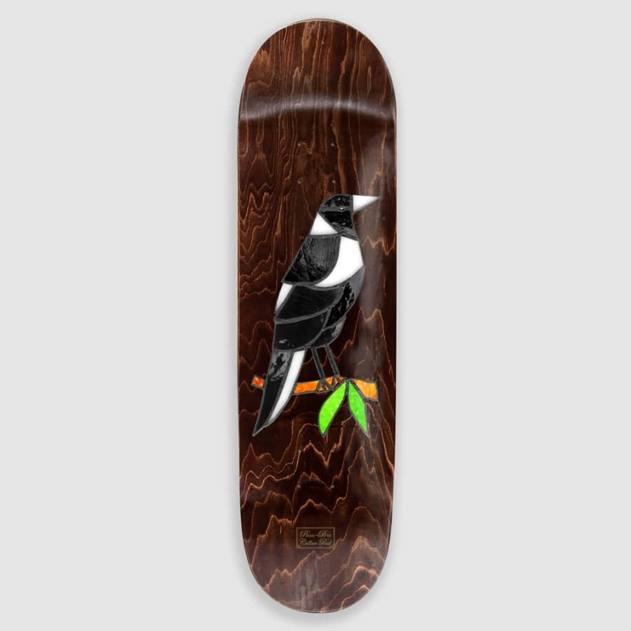 """Pass~Port Paul Stained Glass Maggie Deck - 8.0""""   Deck by Pass~Port Skateboards 1"""
