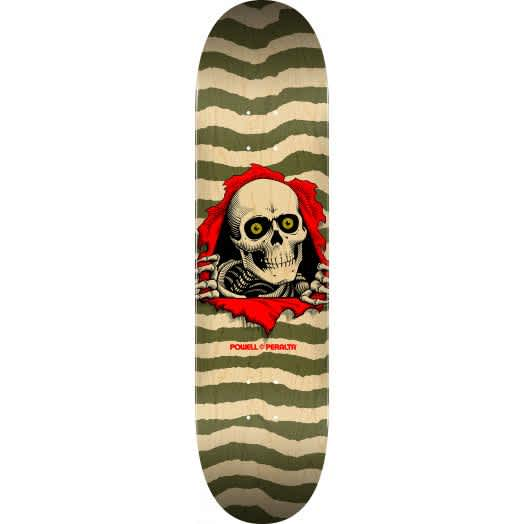 POWELL PERALTA - Ripper Natural/Olive - 8.75   Deck by Powell Peralta 1