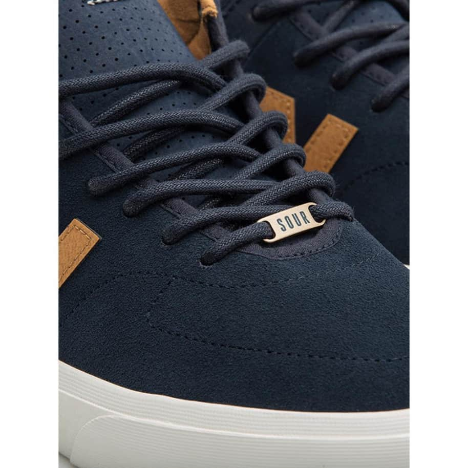 New Balance Numeric 379 Mid Sour Solution Shoes - Navy / Brown   Shoes by New Balance 5