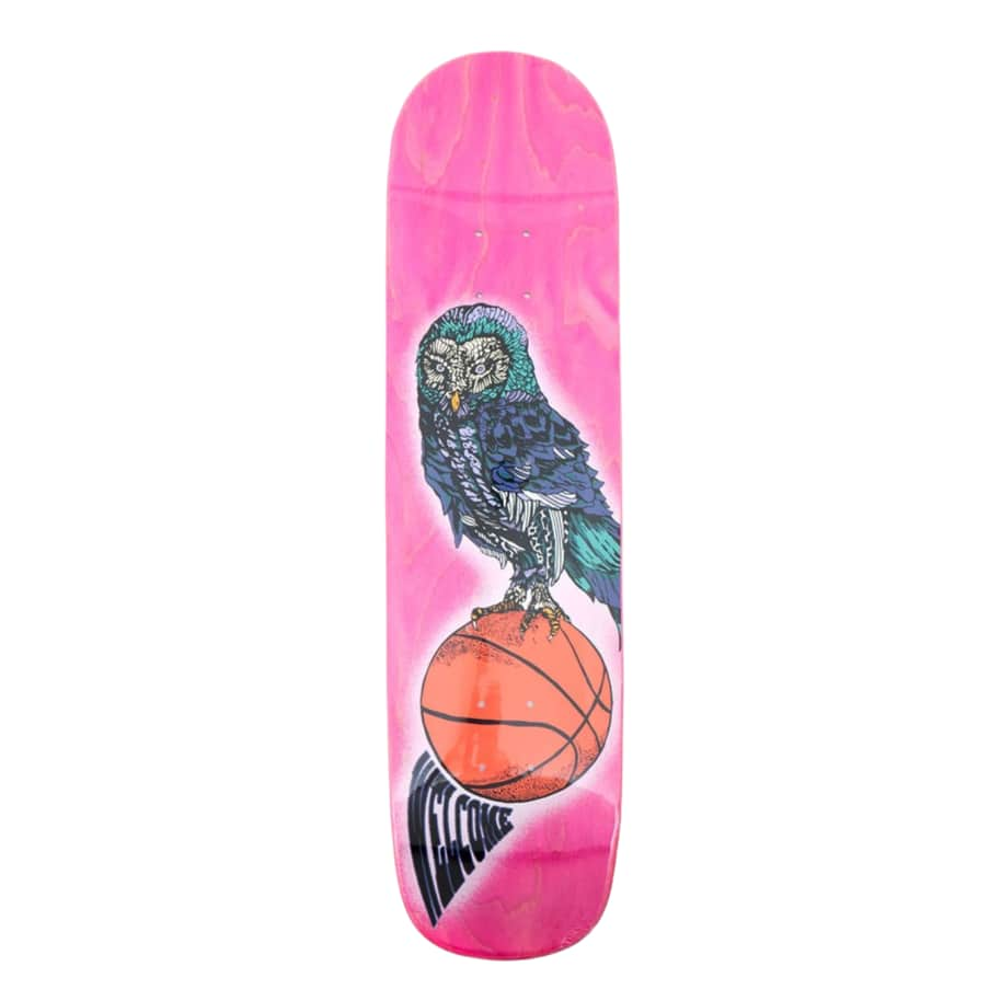 "Welcome Hooter Shooter on Bunyip 8.0"" Skateboard Deck 