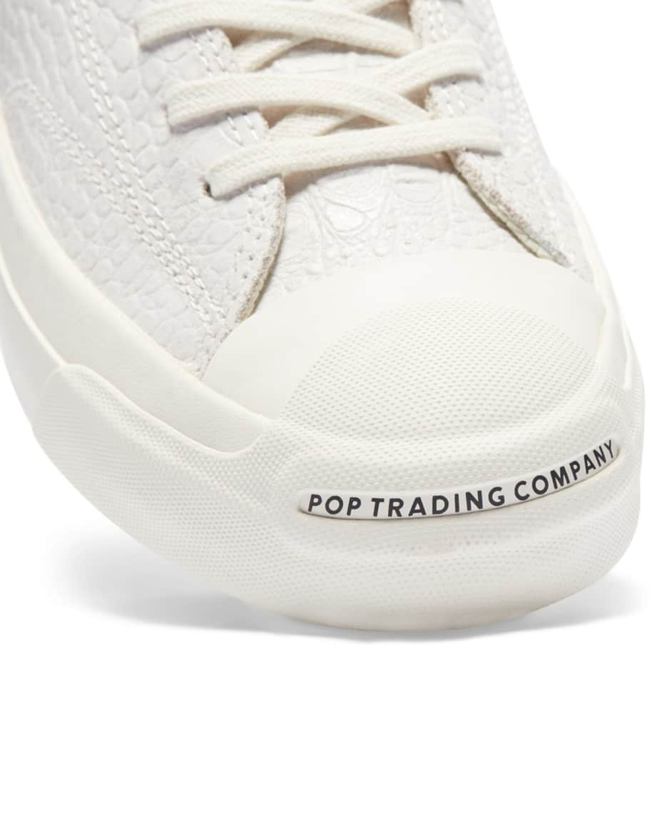 Converse CONS x Pop Trading Company JP Pro Hi Shoes - White 'Dragonskin' | Shoes by Converse Cons 5