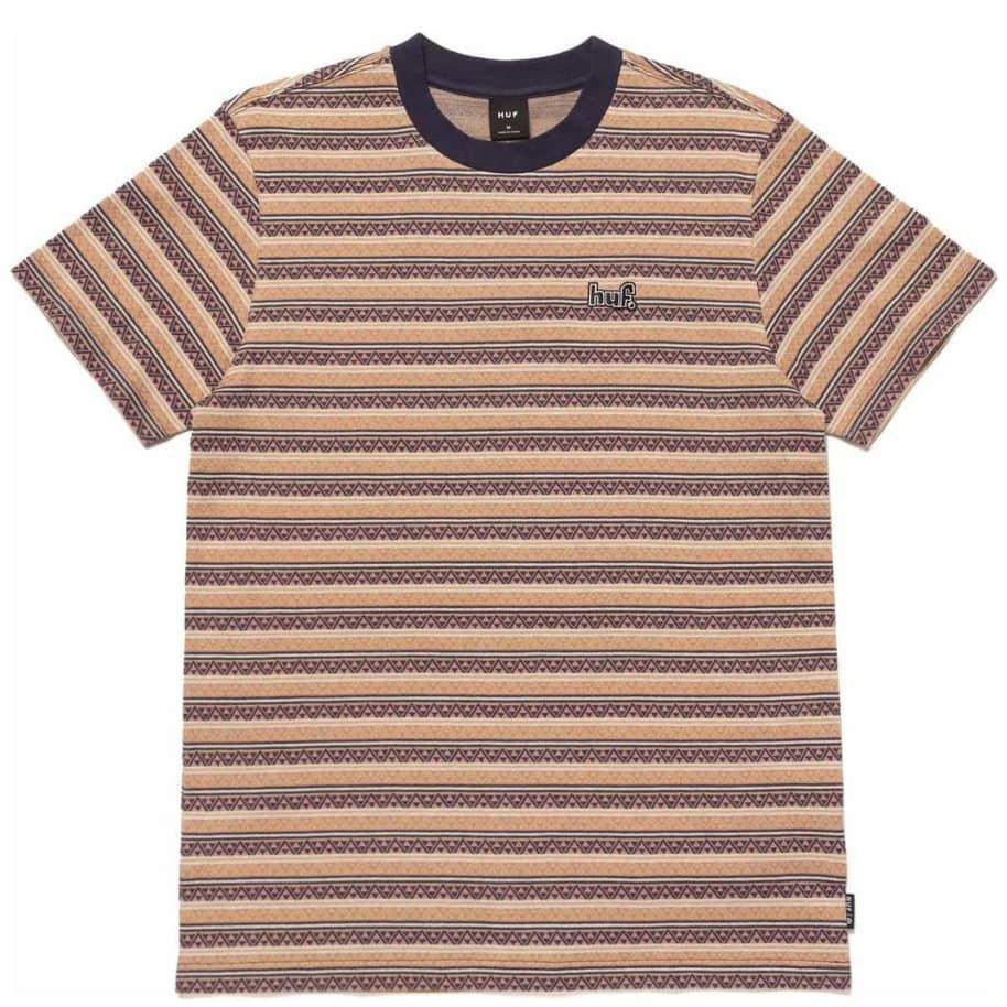 HUF Allen Knit Top T-Shirt - Dusty Rose | T-Shirt by HUF 1