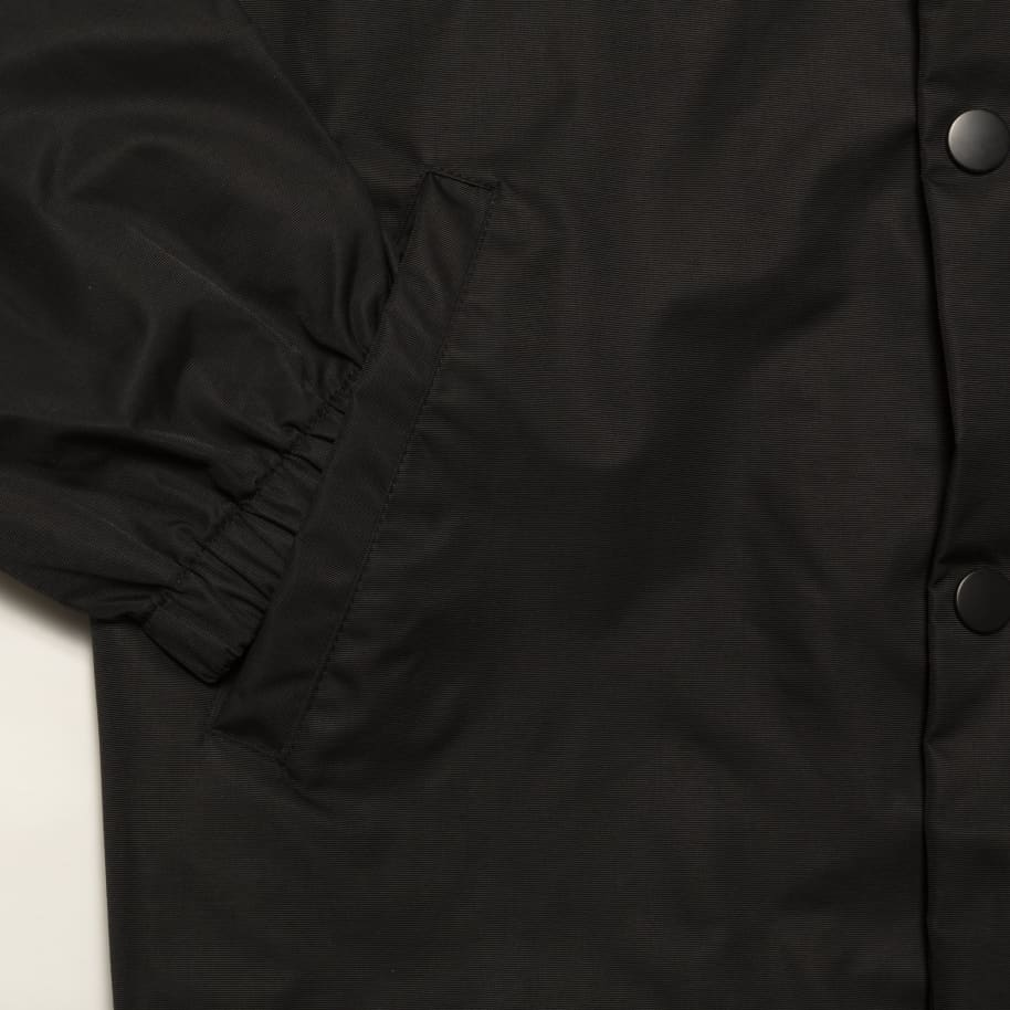 Chrystie NYC Collegiate Logo Coach Jacket - Black   Jacket by Chrystie NYC 5