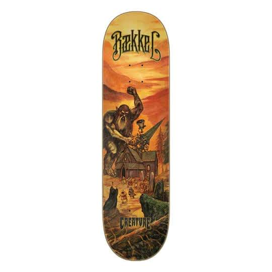 CREATURE BAEKKEL DECIMATE DECK - 8.6 | Deck by Creature Skateboards 1