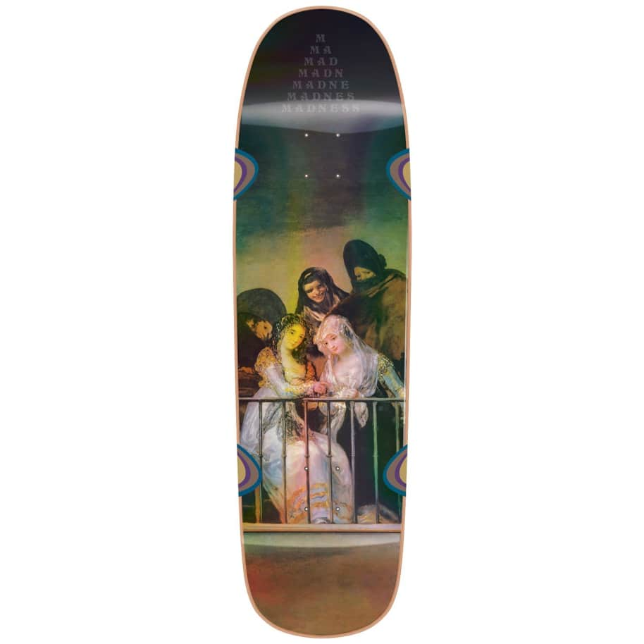 Madness Skateboards Creeper R7 Holographic Skateboard Deck - 8.5'' | Deck by Madness Skateboards 1