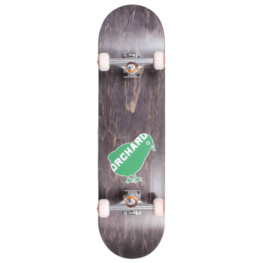 """Orchard Bird Logo Standard Complete 8.0"""" Black (With Free Skate Tool) 