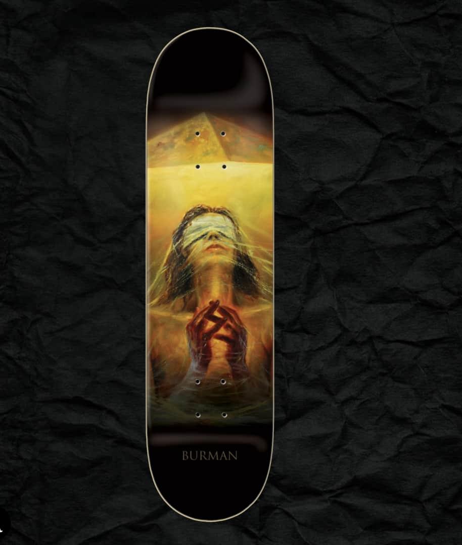 "Zero - Burman Light And Dark Deck (8.25"") | Deck by Zero Skateboards 1"