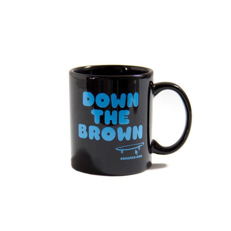 Crailtap Down The Brown Mug | Mug by Crailtap 1