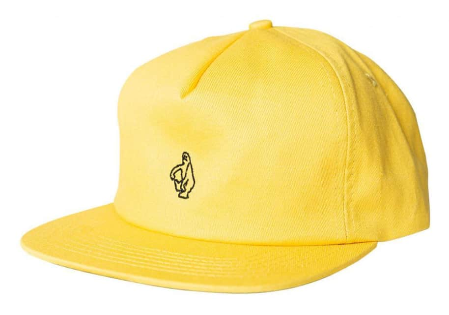 Shmoo Cap (Yellow) | Baseball Cap by Krooked Skateboards 1