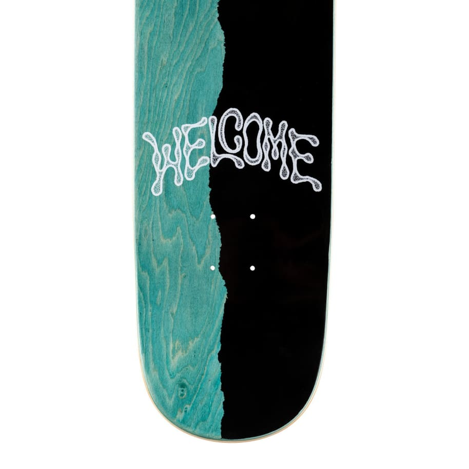 """Welcome Futbol on Son Of Moontrimmer Deck - 8.25""""   Deck by Welcome Skateboards 5"""