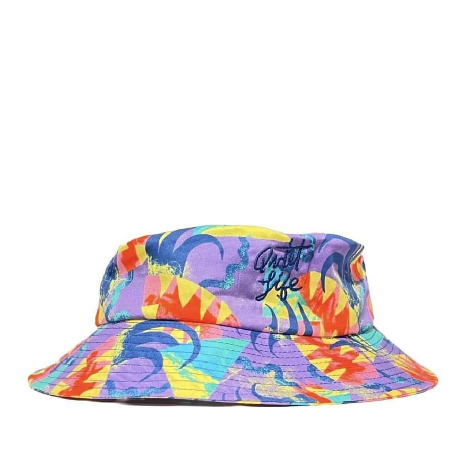 The Quiet Life Bryant Bucket Hat - Multi   Bucket Hat by The Quiet Life 1