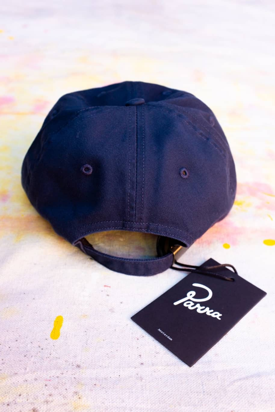 by Parra Signature Logo Hat - Navy Blue   Baseball Cap by by Parra 2