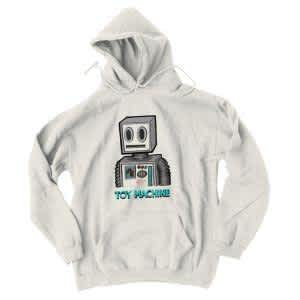 Toy Machine Pen and Ink Robot Hoodie (Sand) | Hoodie by Toy Machine 1