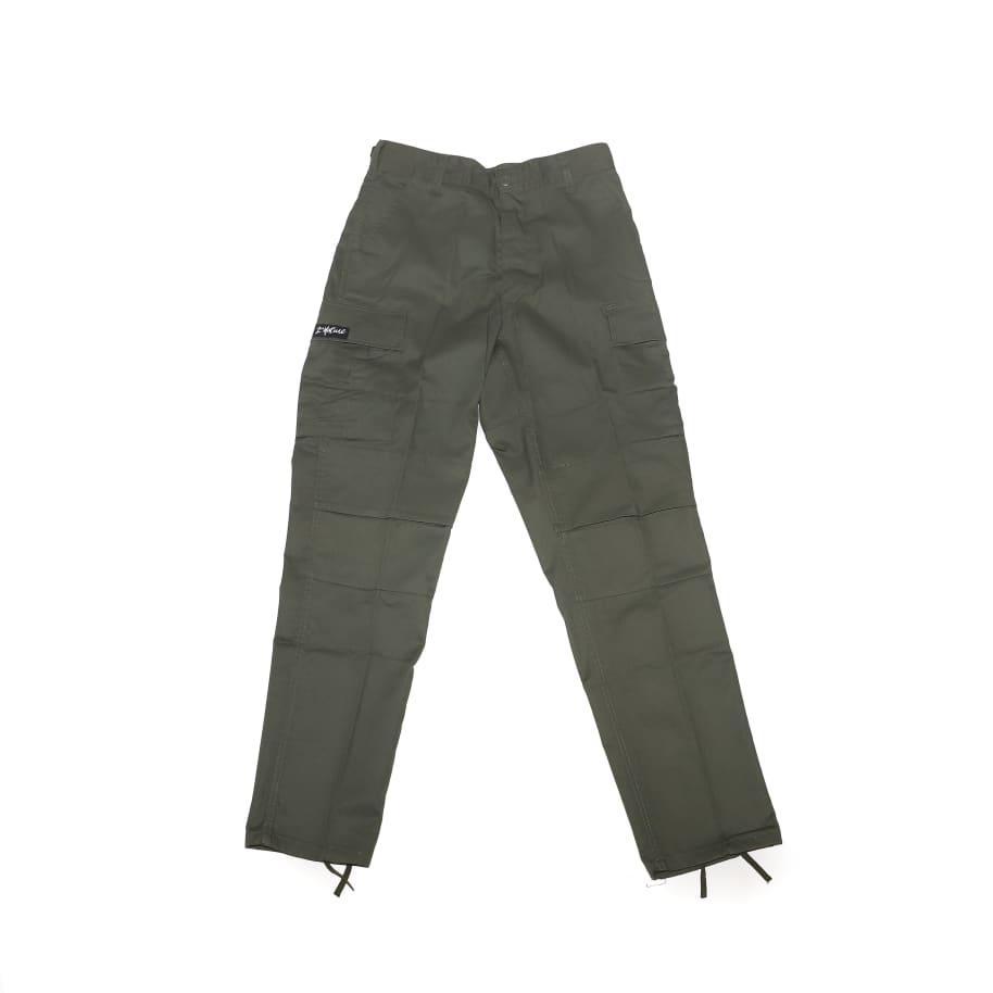 2nd Nature Cargo Pants (Olive Green) | Trousers by 2nd Nature 1