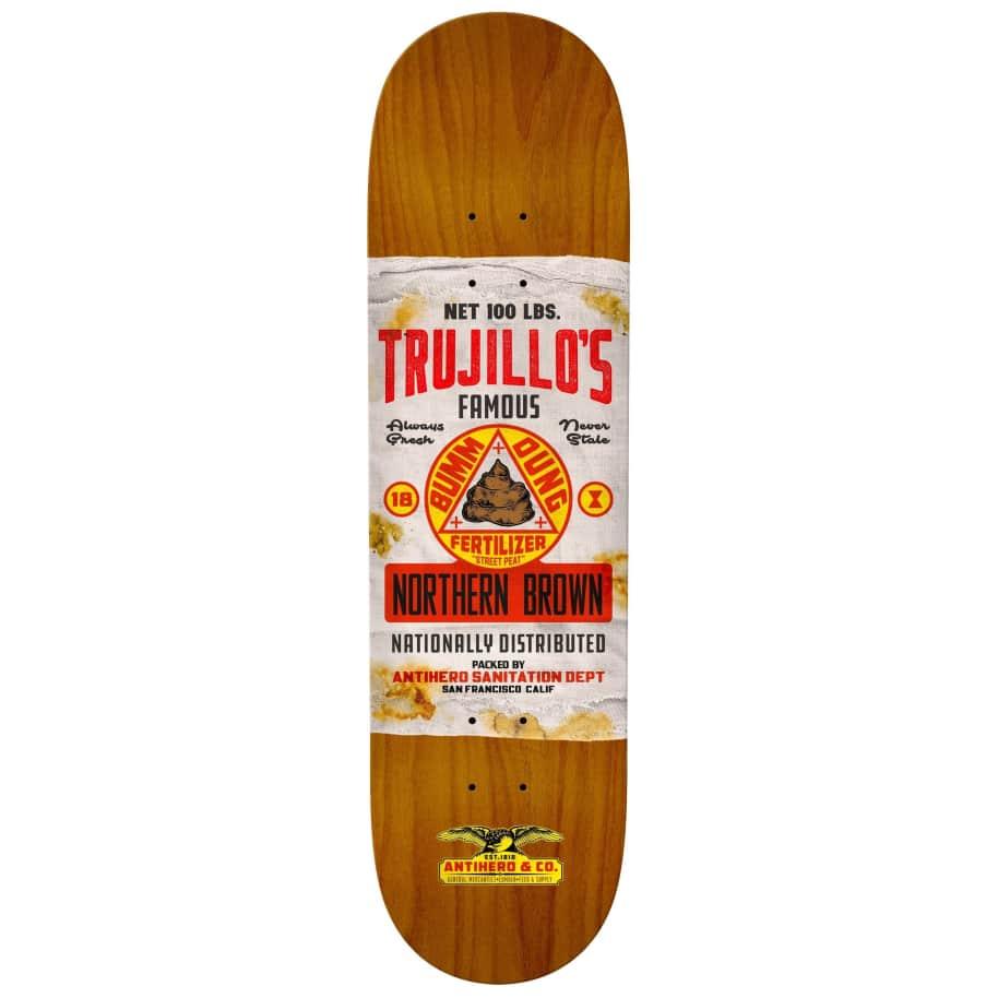 "Anti Hero - Trujillo General Mercantile II Deck (8.5"") | Deck by Antihero Skateboards 1"