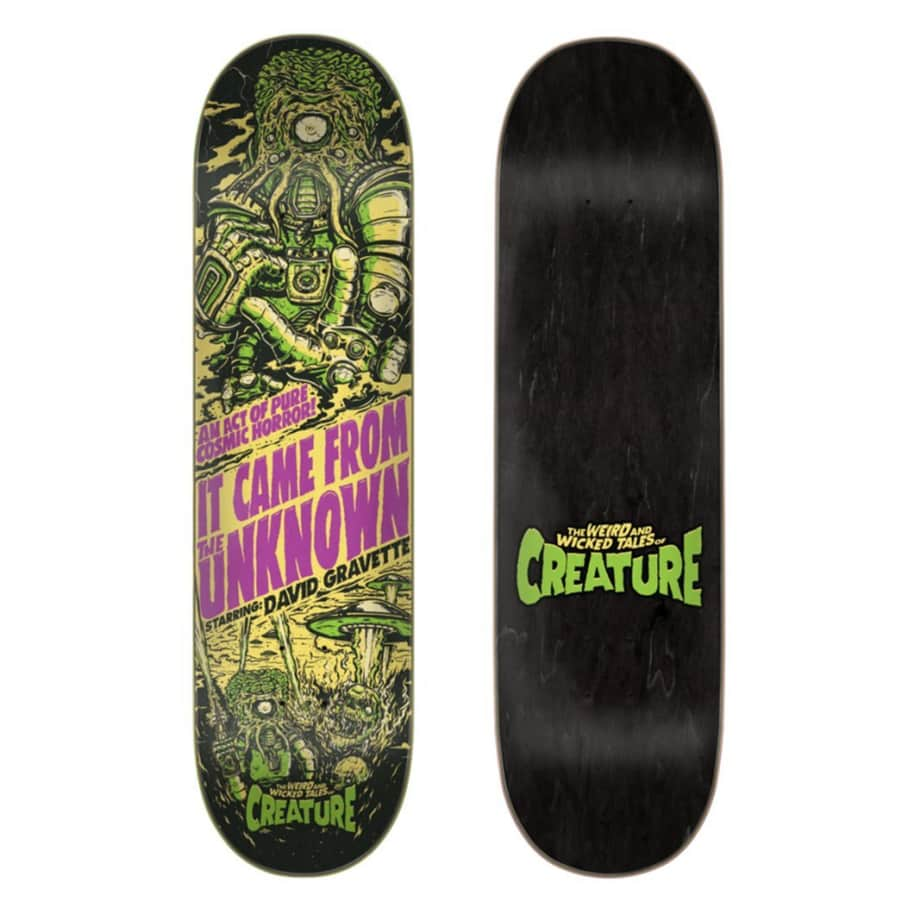 Creature Skateboards Gravette Deck 8.3 | Deck by Creature Skateboards 1
