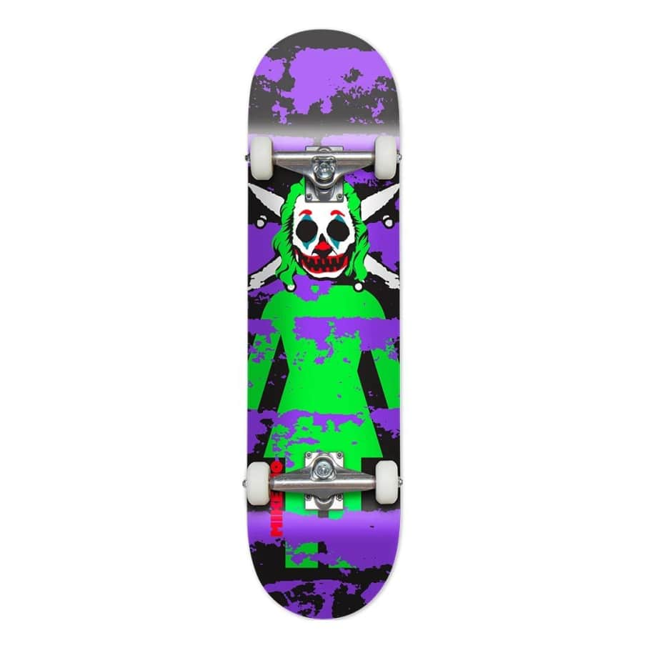 """Girl Complete Clown Pirate Mike Mo 7.875""""   Complete Skateboard by Girl Skateboards 1"""