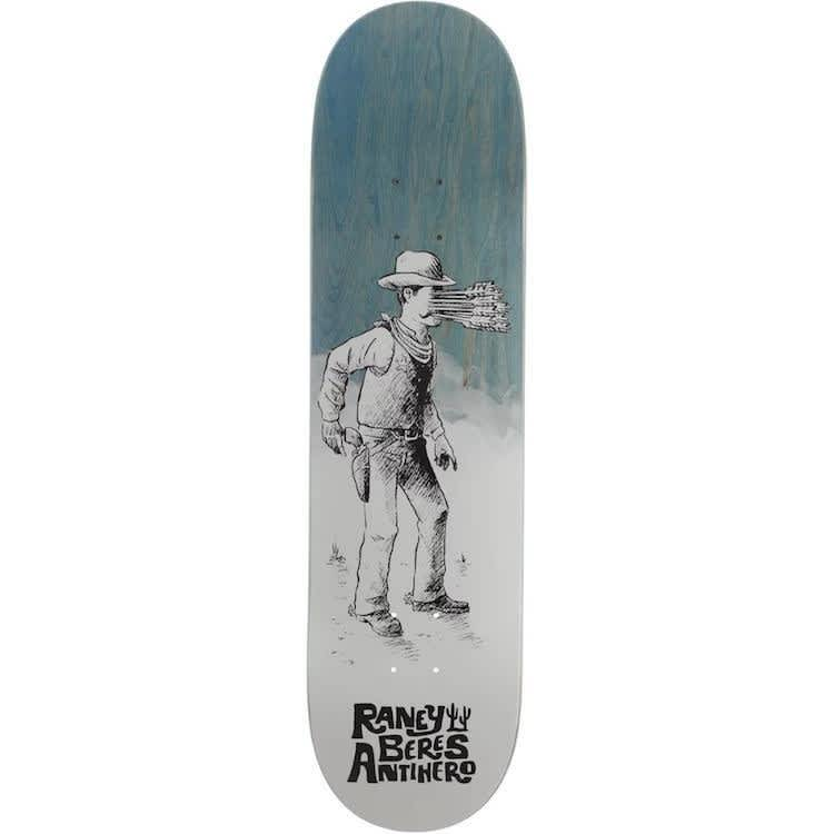 """Anti Hero Skateboards Raney How The West Skateboard Deck 8.25"""" 