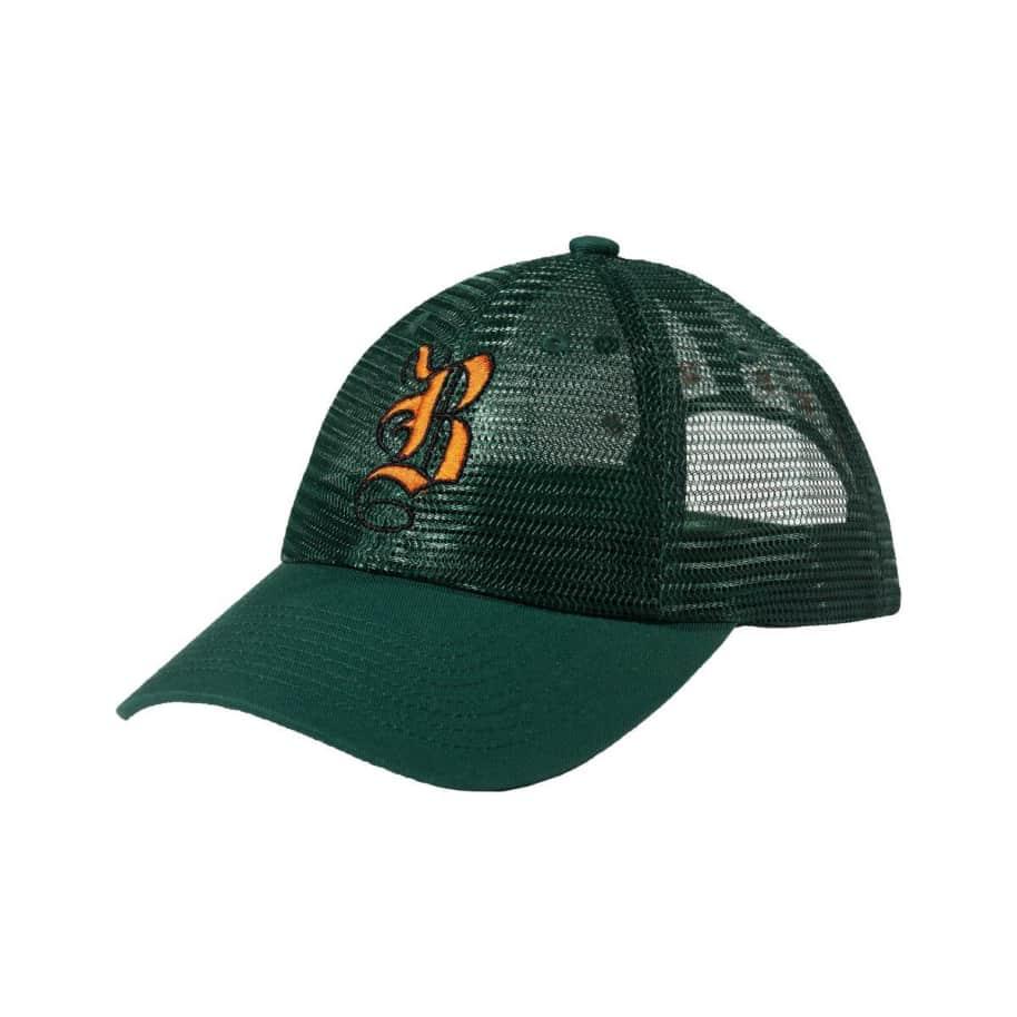 Bronze 56K B Mesh Hat Green   Trucker Cap by Bronze 56k 1