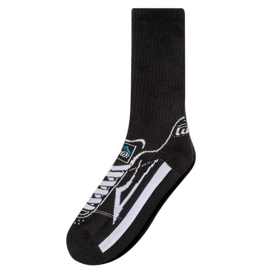 Lakai Manchester Crew Sock Black | Socks by Lakai 1