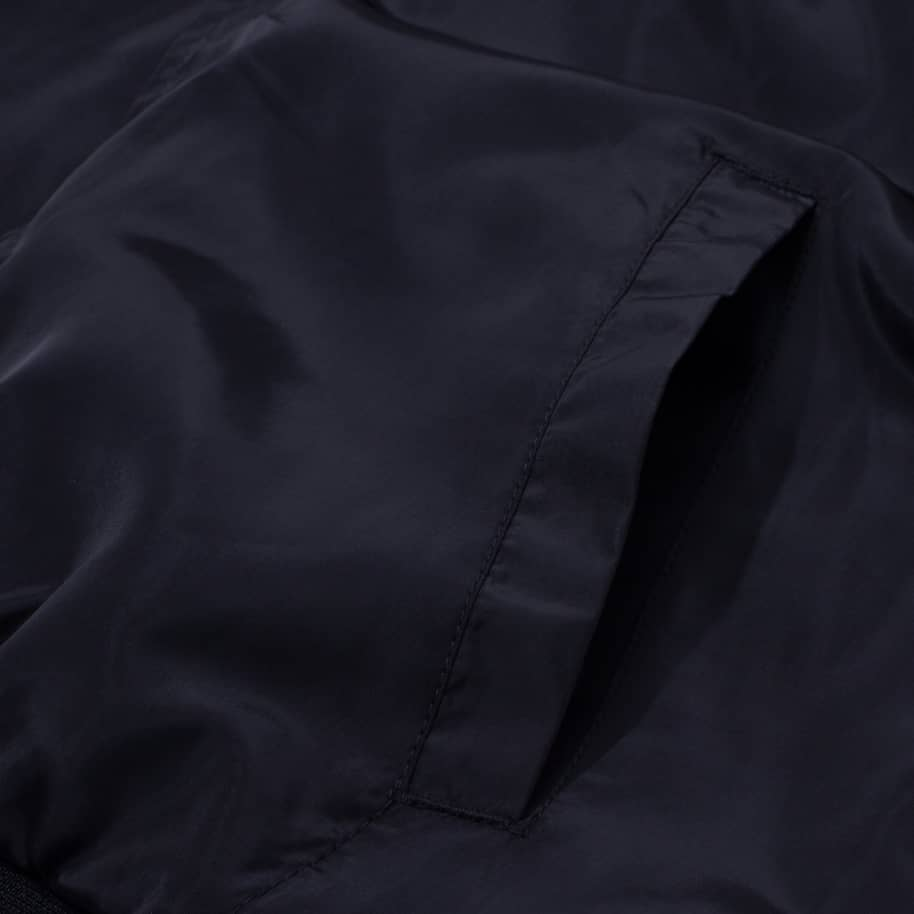 Fucking Awesome Okayama Bomber Jacket - Black / Heather Grey | Jacket by Fucking Awesome 6