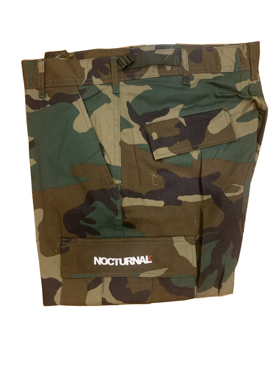 Nocturnal New Philly Cargo Pant (Camo)   Trousers by nocturnal 1