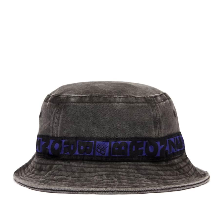 Bronze 56K Bucket Hat - Washed Black   Bucket Hat by Bronze 56k 1