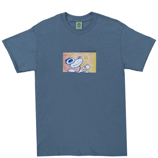 Frog Floating Again T-Shirt - Slate | T-Shirt by Frog Skateboards 1