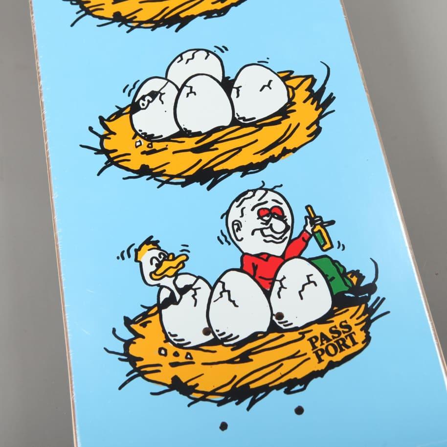 "PassPort 'What U Thought - Eggs' 8.125"" Deck | Deck by Pass~Port Skateboards 3"