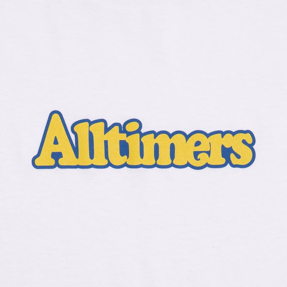 Alltimers Broadway T-Shirt - White | T-Shirt by Alltimers 2
